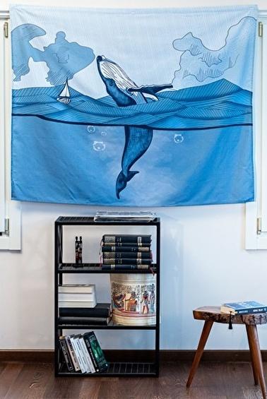 home-bath Duvar Örtüsü Deep İn Ocean Renkli